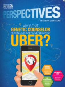Why Is That Genetic Counselor Holding a Business Meeting in an Uber?