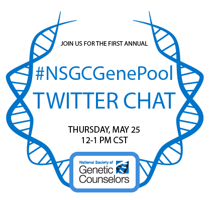 #NSGCGenePool First Annual TweetChat