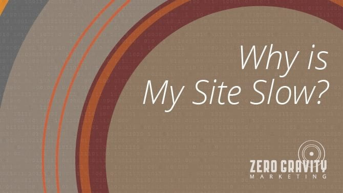 why is my website slow?