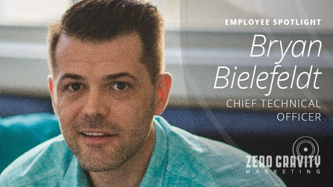 Employee Spotlight - Bryan Bielefeldt, Chief Technical Officer
