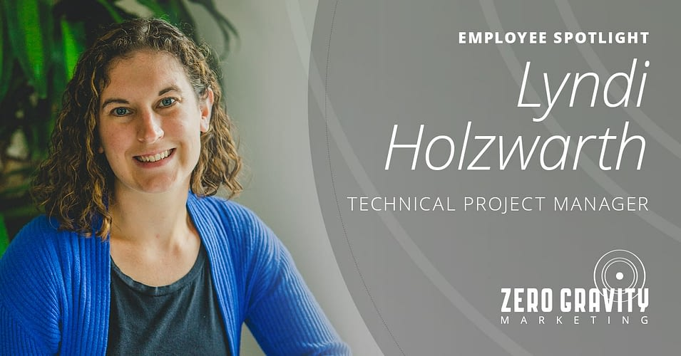 Lyndi Holzwarth, Technical Project Manager