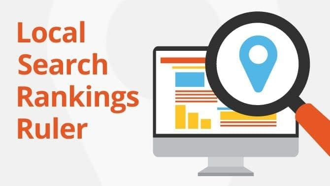 local search rankings ruler