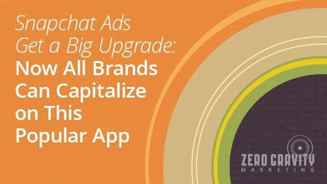 Snapchat Ads get Big Upgrade