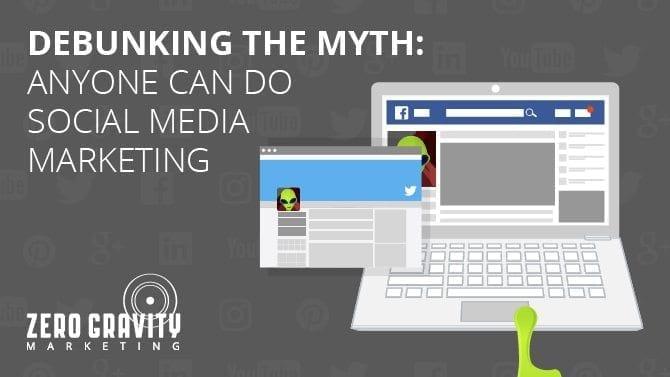 social media marketing myth