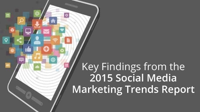 social media marketing trends report