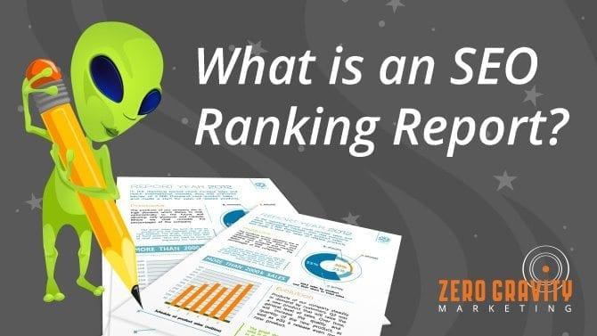 seo rakning report