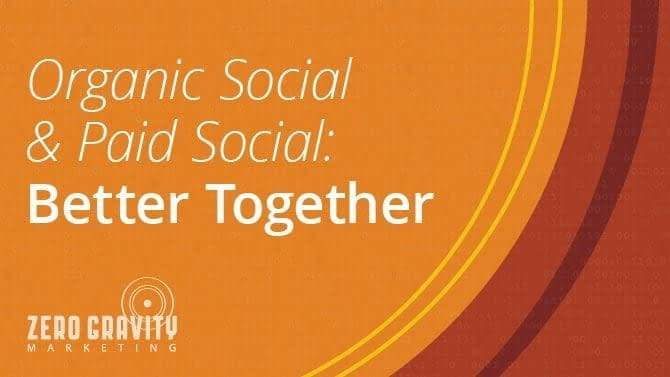 Organic Social & Paid Social: Better Together