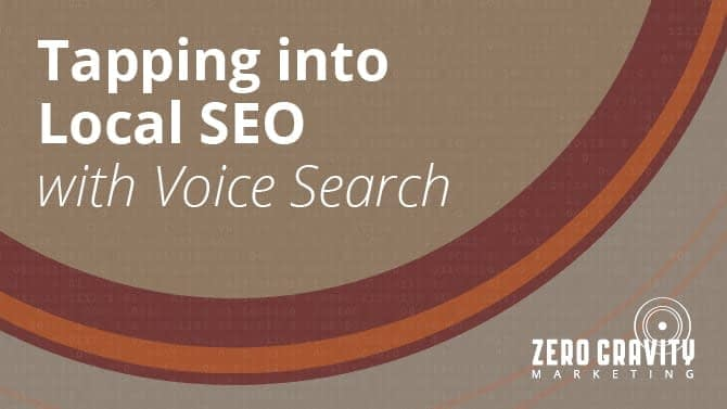 Tapping into Local SEO with Voice Search
