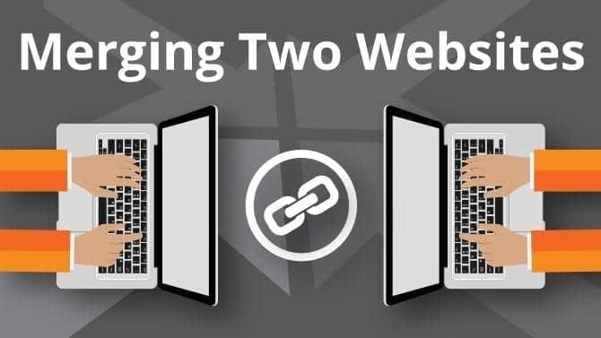 merging two websites