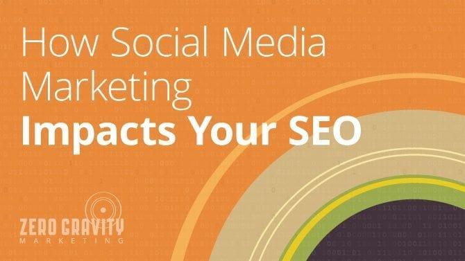 social media marketing impact on seo