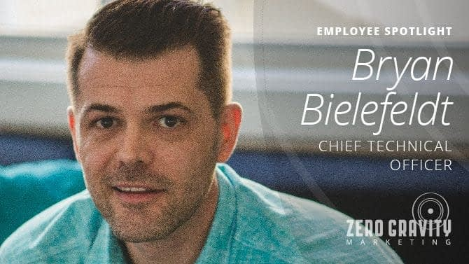Employee Spotlight - Bryan Bielefeldt, Chief Technical Officer