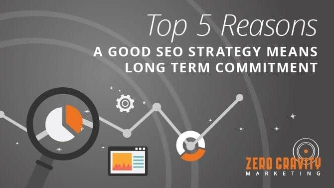 Top 5 Reasons a Good SEO Strategy Means Long Term Commitment