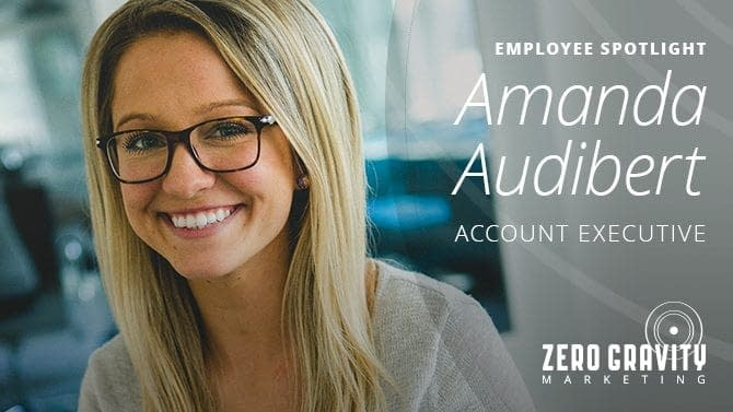 Employee Spotlight - Amanda Audibert, Account Executive