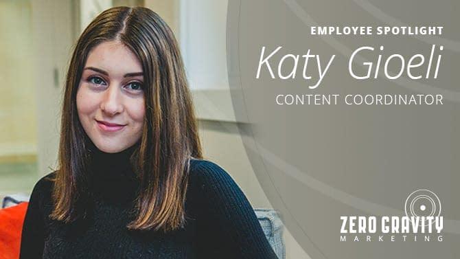 Katy Gioeli, Content Coordinator