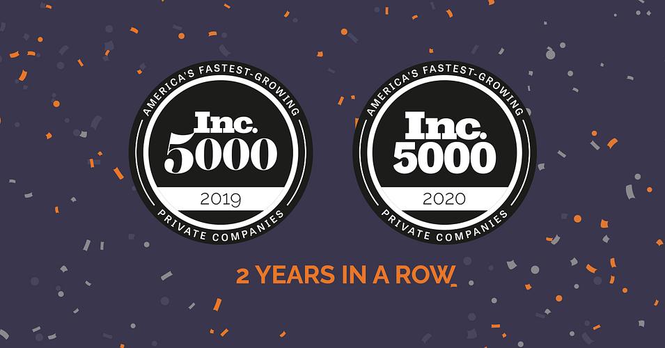 Two Time Digital Marketing Agency on Inc 5000