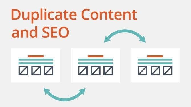 duplicate content and seo
