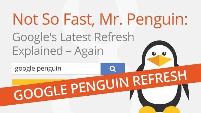 google penguin refresh