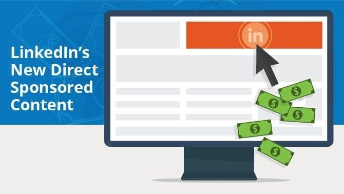LINKED IN DIRECT SPONSORED CONTENT VECTOR