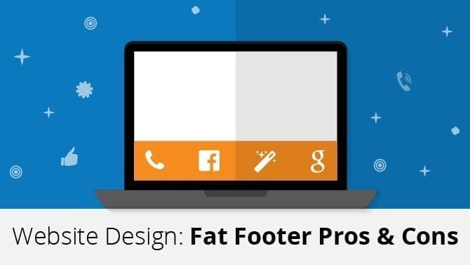 website design: fat footer pros and cons