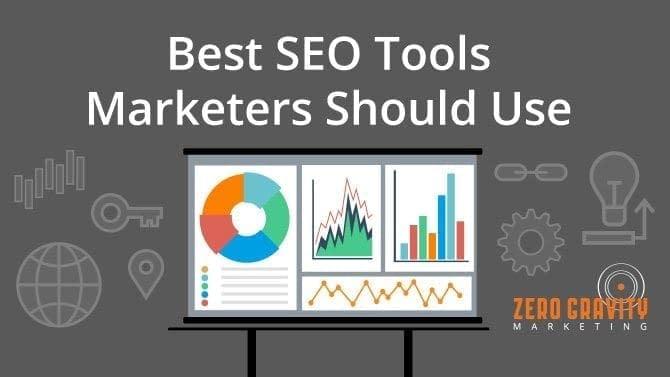 best seo tools from zero gravity marketing
