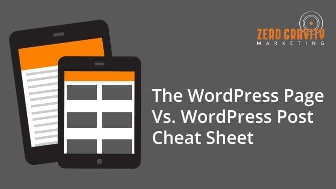 wordpress-page-vs-wordpress-post