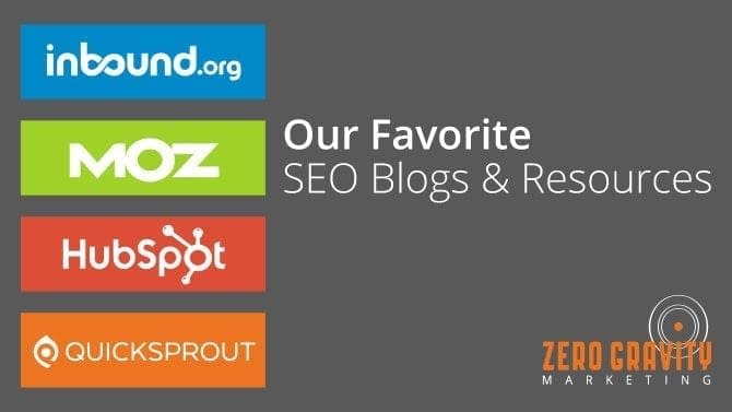 seo blogs & resources