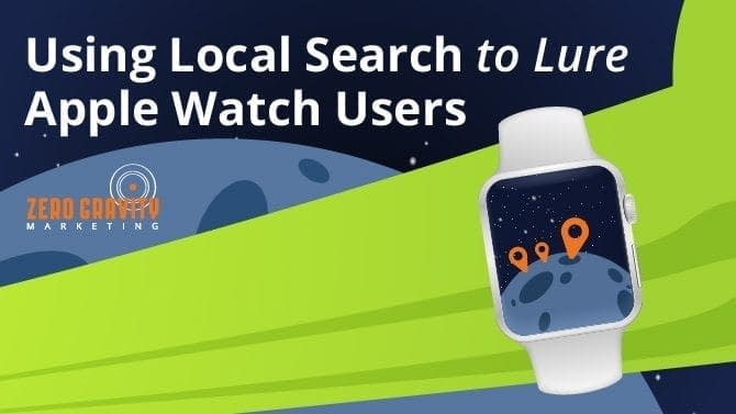 Local Search for apple watch seo