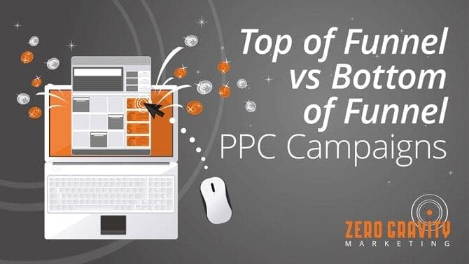 Top of Funnel vs Bottom of Funnel PPC Campaigns