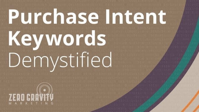 purchase intent keywords