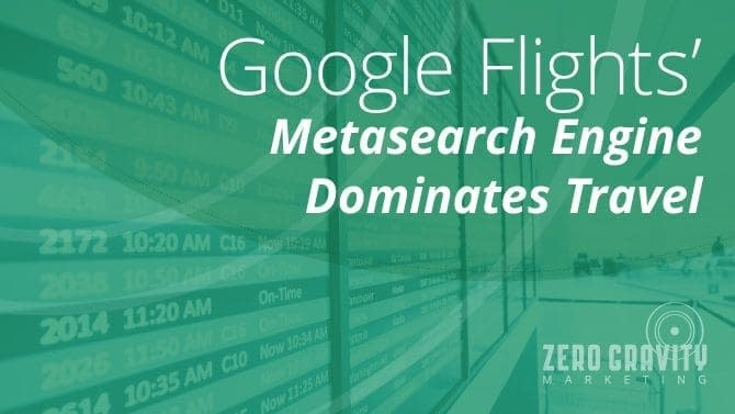 Google Flights Searches