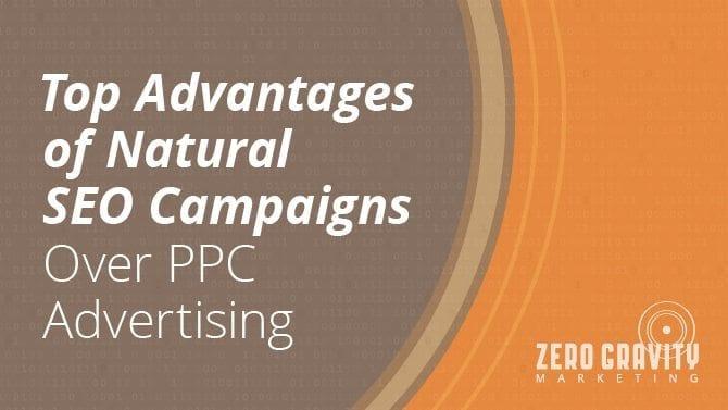 natural seo versus ppc campaigns