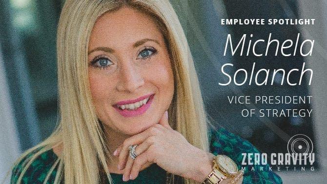 Employee Spotlight - Michela Solanch, Vice President of Strategy