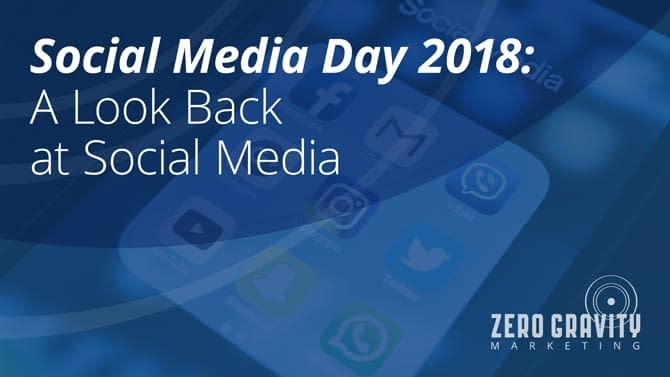 Social Media Day 2018: A Look Back at Social Media