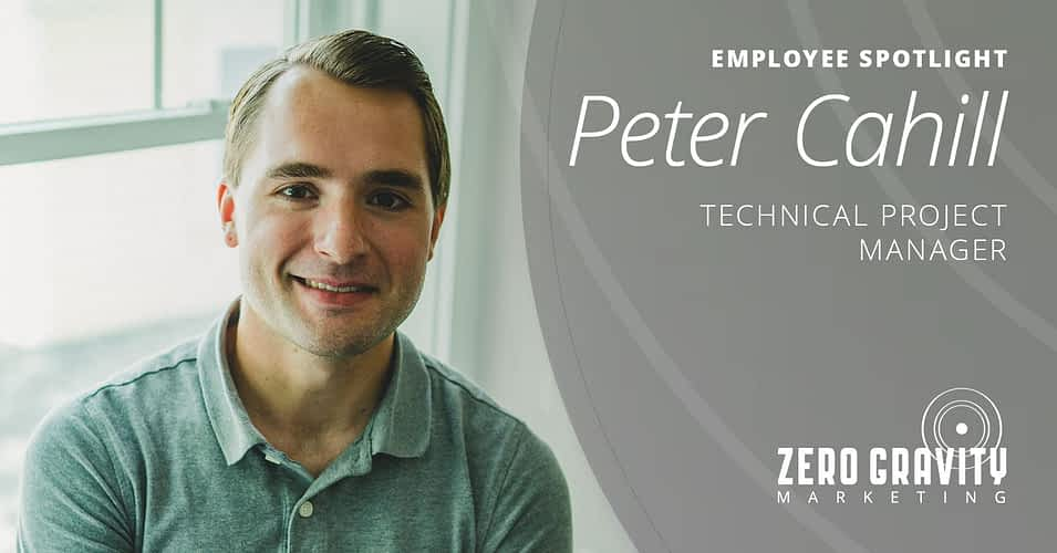 Peter Cahill, Technical Project Manager