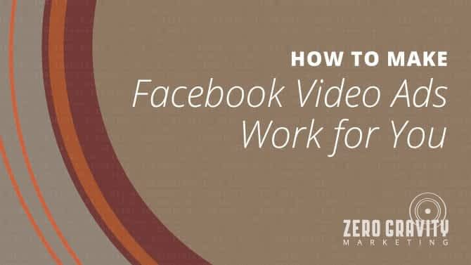 How to Make Facebook video ads