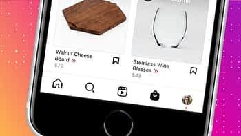 Instagram Shopping Layout