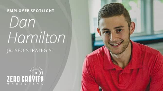Dan Hamilton, Junior Search Strategist