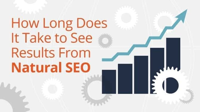 How Long Does it take to see results from Natural SEO