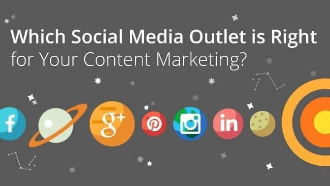 Which Social Media Outlet is Right for Your Content Marketing?