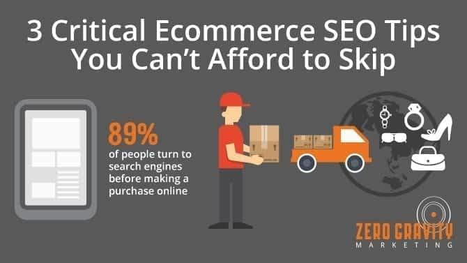 ecommerce SEO tips