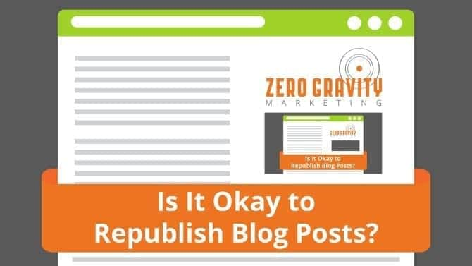 republish blog posts