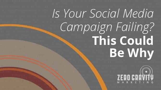 Is your Social Media Campaign Failing?