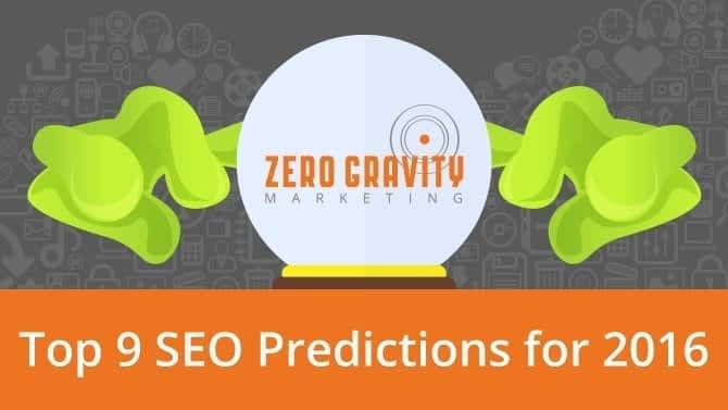 9 SEO Predictions for 2016