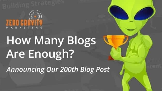 Announcing Our 200th Blog Post