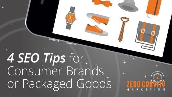 4 seo tips for packaged goods